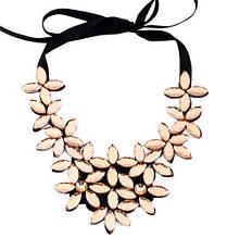 Ожерелье воротник женский Цветы