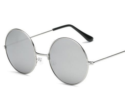 Очки круглые зеркальные солнцезащитные Avatar