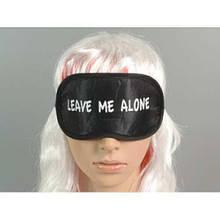 Лучшая маска для сна черная с надписью Оставьте меня в покое