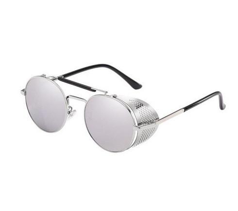 Солнцезащитные очки с зеркальными линзами круглые Avatar