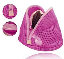Мешок для стирки белья в стиральной машине розовый
