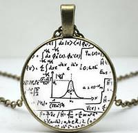 Кулон Математические формулы на цепочке