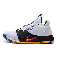 Баскетбольные кроссовки Nike Zoom PG 5 белые