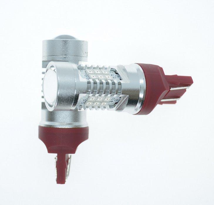 Светодиодная лампа LED 4G21 W21/5W/7443 Красный (шт)
