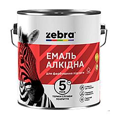 Эмаль для пола алкидная ПФ-266 Zebra 0.9кг (Желто-коричневый №82)