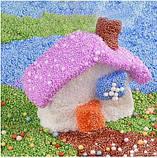 Шарики из пенопласта голубые 10000 шт, фото 6