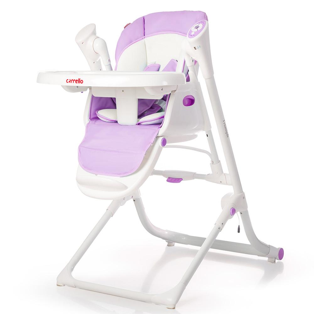 Детский стульчик для кормления 3 в 1 CARRELLO Triumph Lilac Purple