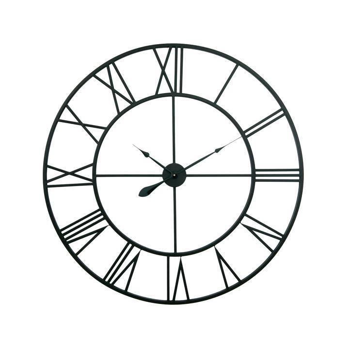 Часы настенные металлические в стиле ретро  - Milano 100