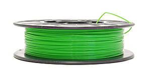 Нить PLA (ПЛА) пластик для 3D печати, Ярко-зеленый (1.75 мм/0.5 кг)