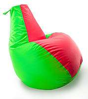 Кресло мешок груша Beans Bag Комби Оксфорд Стронг 85*105 см