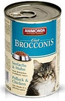 Animonda (Анимонда) Brocconis консервы для кошек сайда и курица, 400 гр