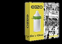 Насадка на член Egzo Bees knees презерватив с усиками (SO2016)