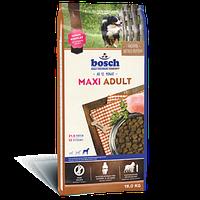 Корм Бош Макси Эдалт Bosch Maxi Adult для собак крупных пород 15кг БЕСПЛАТНАЯ ДОСТАВКА