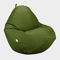 Кресло мешок Овал Beans Bag Оксфорд Стронг 90*130 см Цвет Хаки