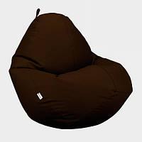 Кресло мешок Овал Beans Bag Оксфорд Стронг 90*130 см Цвет Коричневый