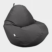 Кресло мешок Овал Beans Bag Оксфорд Стронг 90*130 см Цвет Серый