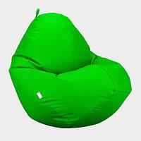 Кресло мешок Овал Beans Bag Оксфорд Стронг 90*130 см Цвет Салатовый