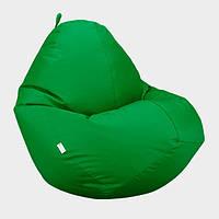 Кресло мешок Овал Beans Bag Оксфорд Стронг 100*140 см Цвет Трава