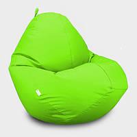 Кресло мешок Овал Beans Bag Оксфорд Стандарт 85*105 см Цвет Салатовый
