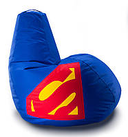 Кресло мешок груша Beans Bag Супермэн 100*140 см