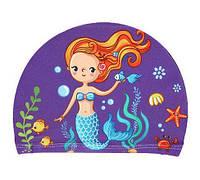 Шапочка для бассейна девочке Русалочка