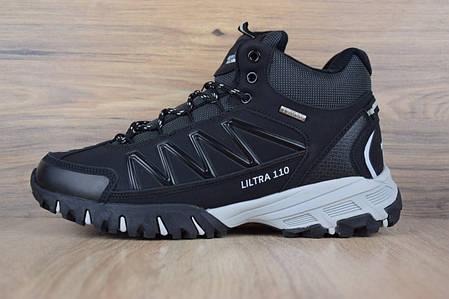 """Зимние ботинки на меху The North Face Ultra 110 """"Черные / Белые"""", фото 2"""