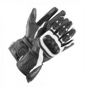 Мотоперчатки Buse Pit Lane (Black White)