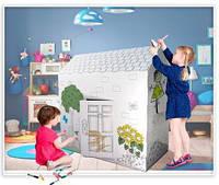 Игрушка Supretto Картонный домик-раскраска SKU_4955