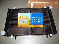 Радиатор водяного охлаждения ГАЗ 3302 под рамку медный 3-х рядный 330242-1301010-01С