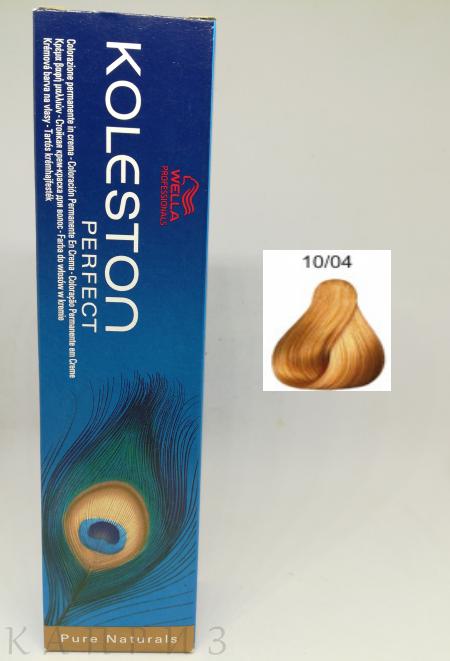 Крем-краска Wella Professionals Koleston Perfect 10/04, 60 мл