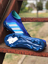 Бутсы Adidas Predator 18+FG/адидас предатор без шнурков (реплика) 5511, фото 2
