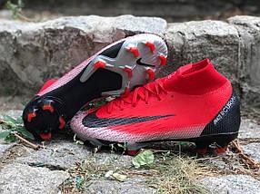 Бутсы Nike Mercirial CR7 FG (реплика) 6511, фото 3