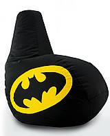 Кресло мешок груша Beans Bag Бэтмен 100*140