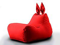 Крісло мішок Beans Bag Зайчик колір Червоний