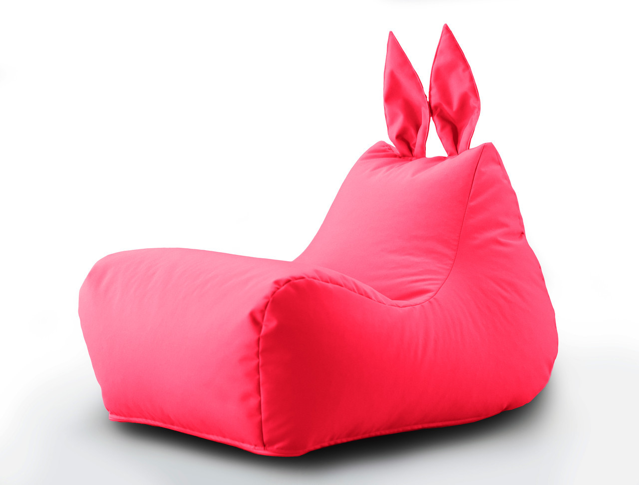 Кресло мешок Beans Bag Зайка цвет Малиновый