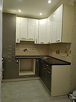 Кухня МДФ AGT (супер глянец) в Т-профиле