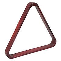 Треугольник для пула Classic дуб махагон ø57,2мм