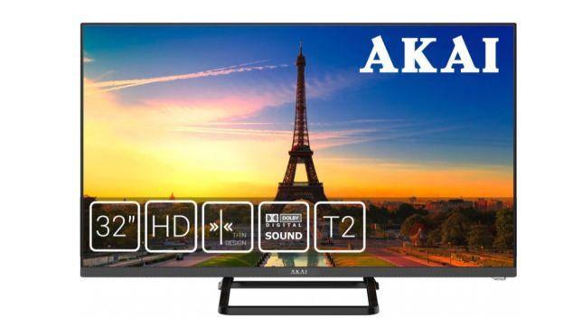 Телевизор плоскопанельный Akai UA32LEF1T2, фото 2