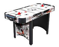 Игровой стол аэрохоккей Home Ice - 142,1 х 62,3 х 79 см, настольный хоккей, аерохокей