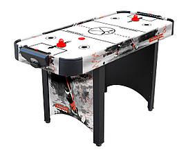 Игровой стол аэрохоккей Home Ice - 142,1 х 62,3 х 79 см, с дополнительной защитой вентилятора