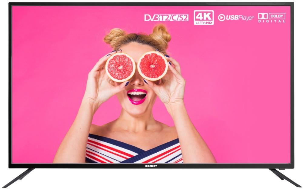 Телевизор плоскопанельный Romsat 50UX1850T2