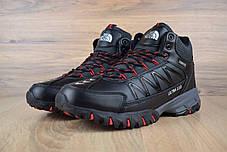 """Зимние ботинки на меху The North Face Ultra 110 """"Черные / Красные"""", фото 2"""