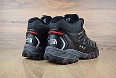 """Зимние ботинки на меху The North Face Ultra 110 """"Черные / Красные"""", фото 3"""