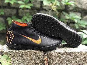 Сороконожки Nike Mercurial c носком (реплика) 1711, фото 3