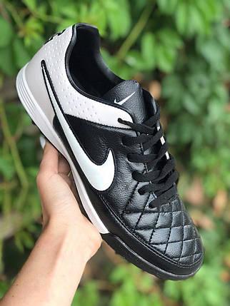 Сороконожки Nike Tiempo (реплика) 4911, фото 2
