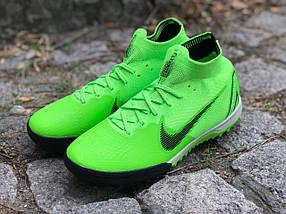 Сороконожки Nike Mercurial c носком (реплика)3111, фото 3