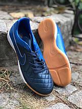 Футзалки Nike Tiempo /футбольная обувь/найк темпо(реплика) 0721, фото 3