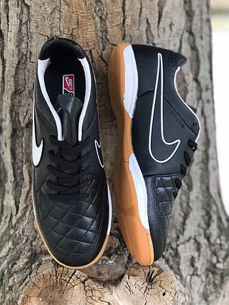 Футзалки Nike Tiempo /футбольная обувь/найк темпо(реплика) 1721, фото 2
