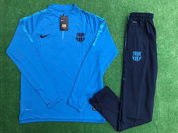 Спортивный (тренировочный) костюм Nike FC Barselona (реплика), фото 2