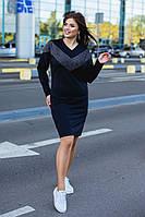 Женское модное платье  ОС913-1 (бат), фото 1